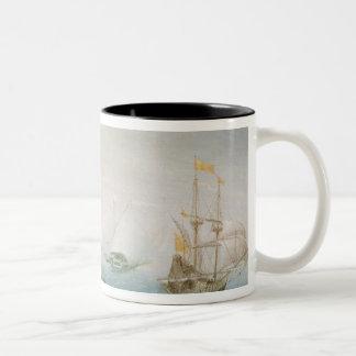 嵐の海の出荷 ツートーンマグカップ