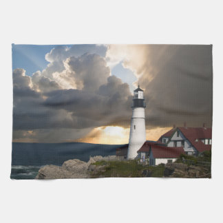 嵐の灯台 キッチンタオル
