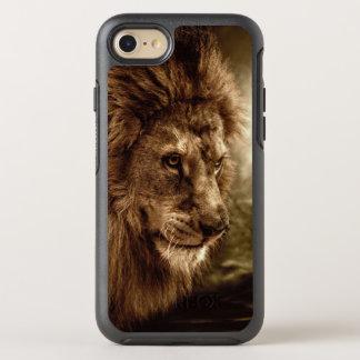 嵐の空に対するライオン オッターボックスシンメトリーiPhone 8/7 ケース