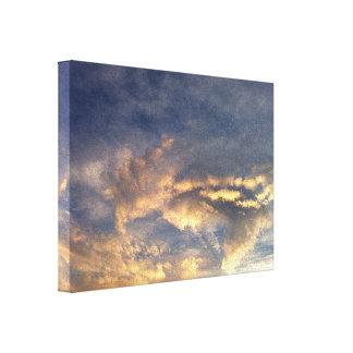 嵐の空 キャンバスプリント