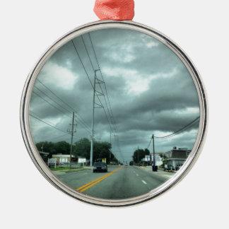 嵐の道 メタルオーナメント
