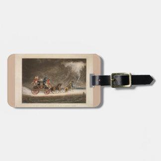 嵐の郵便車、1827. ラゲッジタグ