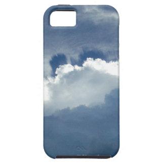 嵐の雲を通ってよじ登る日曜日 iPhone SE/5/5s ケース