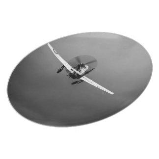 嵐のP-51ムスタングの離陸 プレート