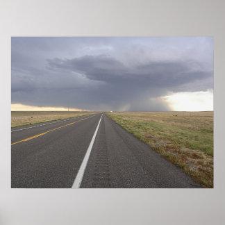 嵐への道 ポスター