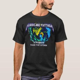 嵐コンサートより強いハリケーンMatthew Tシャツ