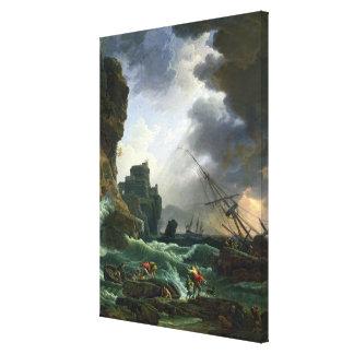 嵐1777年 キャンバスプリント