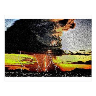 嵐8のエナメル ポストカード