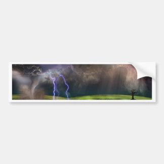 嵐 バンパーステッカー
