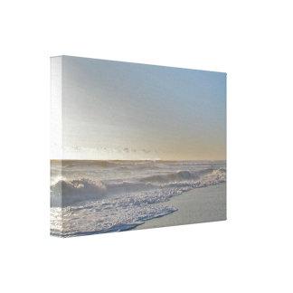 嵐-波の日光の後 キャンバスプリント