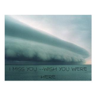 嵐、私は恋しく思います --願いここにいました ポストカード