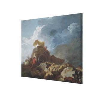 嵐、c.1759 キャンバスプリント