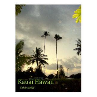 嵐- Hanapepe、カウアイ島、ハワイ ポストカード
