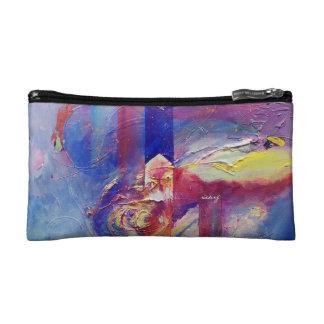 嵐Bagetteの抽象的な目 コスメティックバッグ