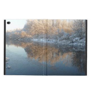 川による冬 POWIS iPad AIR 2 ケース
