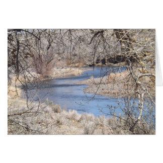 川のくねりカード カード