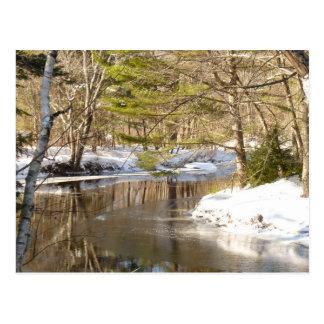 川のくねり ポストカード