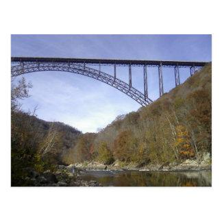 川のジョージ新しい橋 ポストカード