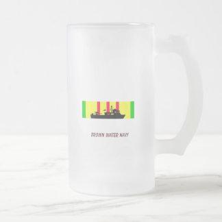 川のラット フロストグラスビールジョッキ