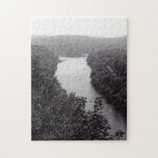 川の円 ジグソーパズル