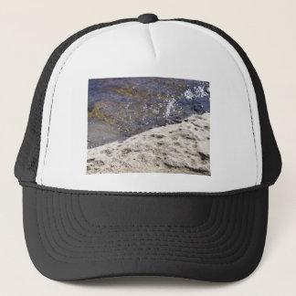 川の写真が付いている帽子 キャップ