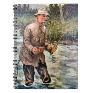川の採取 ノートブック
