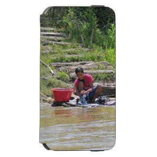 川の洗濯日 INCIPIO WATSON™ iPhone 6 ウォレットケース
