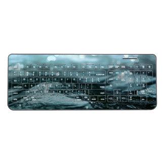 川の浮遊水 ワイヤレスキーボード