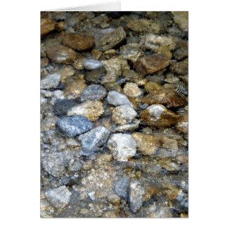 川の石 カード