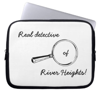 川の高さの実質の探偵! おもしろいコンピュータ箱 ラップトップスリーブ