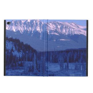 川のSnowy凍結する山Banffアルバータ Powis iPad Air 2 ケース