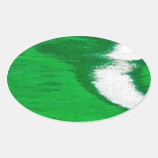 川フンボルトネバダ 楕円形シール