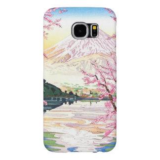 川口町岡田Koichiの向こうずねのhanga日本からの富士 Samsung Galaxy S6 ケース