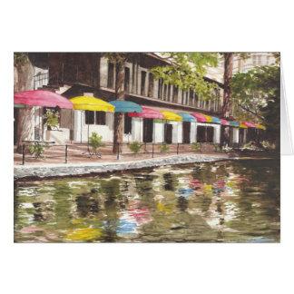 川岸のカフェ カード