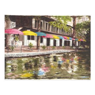 川岸のカフェ ポストカード