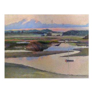 川岸の平静 ポストカード