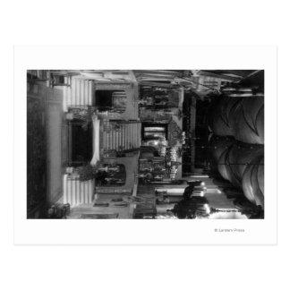 川岸、カリフォルニアの写真の代表団のインのインテリア ポストカード