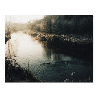 川岸 葉書き