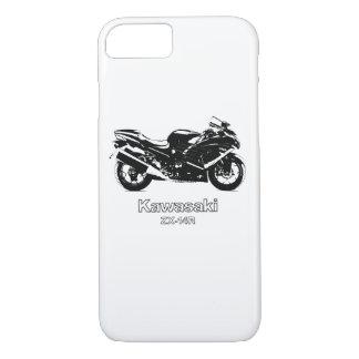 川崎の忍者ZX-14R ZX14の電話カバー iPhone 8/7ケース