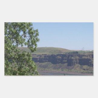 川渓谷 長方形シール