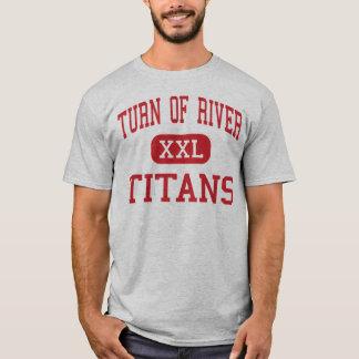川-タイタン-の回転中間- Stamford Tシャツ