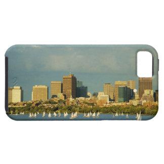 川、チャールズ川、ボストンのヨット、 iPhone SE/5/5s ケース