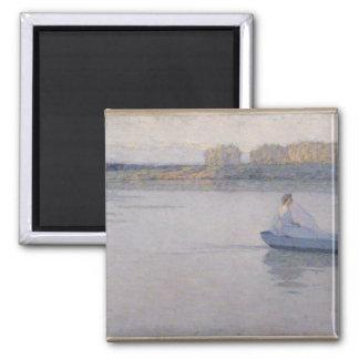 川、朝1896年 マグネット