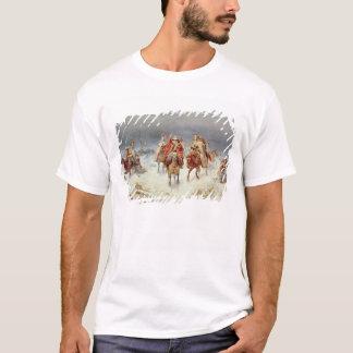 川Berezinaを交差させるフランスのな軍 Tシャツ