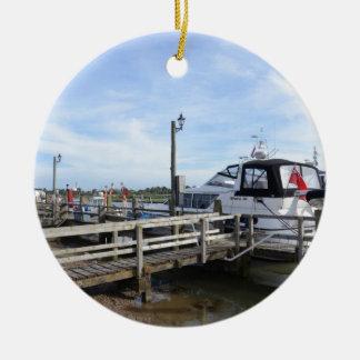 川Blythのモーターボート セラミックオーナメント
