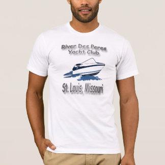 川DesペレスのヨットクラブのTシャツ Tシャツ