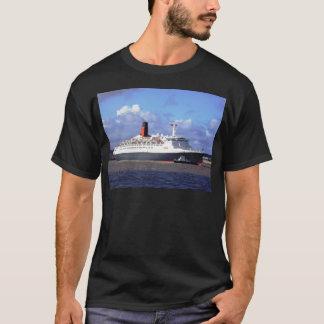 川Mersey、リヴァプールイギリスのQE11 Tシャツ