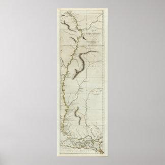 川Mississipiのコース ポスター