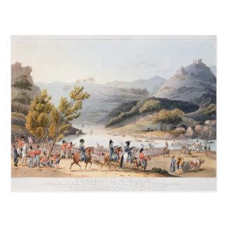 川Mondegoの浅瀬を渡ること、C.によって刻まれて ポストカード