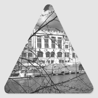 川Ouseのヨークのギルド会議所 三角形シール